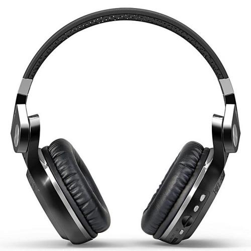 Bluedio T2 Plus Bluetooth Headphone Black